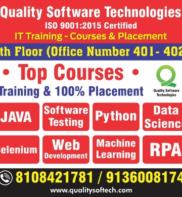 Certified Software Testing course in Mumbai Quality Software Technologies