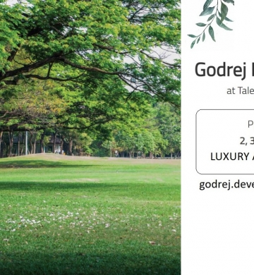 Godrej Properties Talegaon Pune | resting in the ample greenery and fresh air